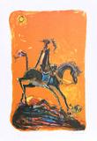 Don Quixote 2 Reproduction pour collectionneur par Alvin Carl Hollingsworth