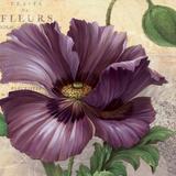 Purple Garden I Poster by Pamela Gladding