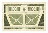 Plan du Casino Colonna, A Marino Giclée-Druck von  Bonnard