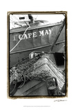 Fishing Trawler- Cape May Affiches par Laura Denardo