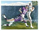 Super Bowl XI Samletrykk av Merv Corning