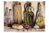 Pasta and Olive Oil Lámina por Theresa Kasun