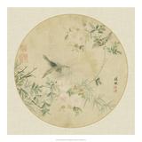 Oriental Bird Silk II Reproduction procédé giclée