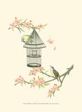 Small Birds on a Branch II Taide tekijänä Nancy Slocum