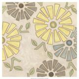 Pastel Pinwheels I Affiches par Karen Deans