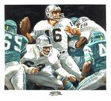 NFL Superbowl XV (Jim Plunkett) Særudgave af Merv Corning