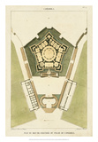 Plan du Rez De Chaussee du Palais Giclée-Druck von  Bonnard