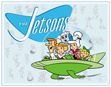 Jetson's Family Carteles metálicos