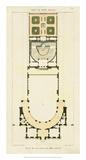 Plan de la Villa di Papa Guilio Giclée-Druck von  Bonnard