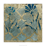 Stained Glass Indigo II