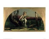 Ophelia Giclee Print by Arthur Hughes