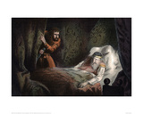 MacBeth About to Murder the Sleeping Duncan Giclee Print by Robert Dudley