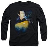 Long Sleeve: Star Trek - Data 25th Long Sleeves