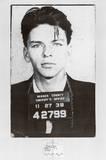 Frank Sinatra Mugshot Kunstdrucke