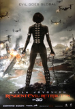 Resident Evil Retribution - International Poster Posters