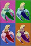 Banana Pop-Art Poster