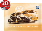 VW Käfer & Bus Carteles metálicos