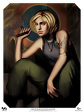 "Battlestar Galactica: Our Ladies of Galactica - Kara ""Starbuck"" Thrace Poster"