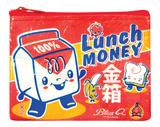 Lunch Money Coin Purse Poster zum Ausmalen