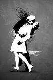 Warzone-Kiss Graffiti Pósters
