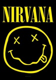 Nirvana Smiley Face Poster