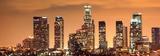 Dowtown Los Angeles Skyline at Night, California Plakater av Konstantin Sutyagin