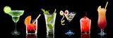 Kleurrijke cocktails Print