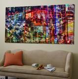 City Lights 1 Art par Jean-François Dupuis