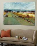 Pastel Landscape VIII Plakater av Jacques Clement