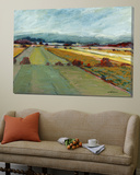 Pastel Landscape VIII Poster di Jacques Clement
