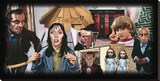 Redrum Stretched Canvas Print by Justin Reed