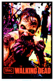 The Walking Dead Zombie TV Blacklight Poster Poster