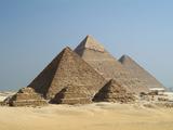 The Giza Pyramids, Cairo, Egypt Impressão fotográfica por Gary Cook