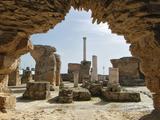 Antonine Roman Thermal Baths, Carthage, Tunisia Stampa fotografica di Gary Cook
