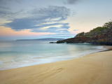 Just before Sunrise on Oneloa Beach, Maui, Hawaii, USA Photographic Print by Patrick Smith