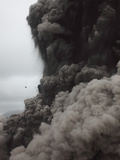 Eruption and Ash Cloud of Yasur Volcano, Vanuatu Photographic Print by Richard Roscoe