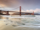 Golden Gate Bridge and Marin Headlands, San Francisco, California, USA Photographic Print by Patrick Smith