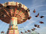 Fairground Ride, Munich, Germany Photographic Print by Richard Roscoe