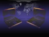 Illustration of Global Digital Communication Reproduction photographique par Carol & Mike Werner