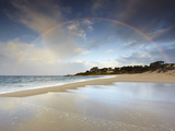 Rainbow, Carmel State Beach, California, USA Photographic Print by Patrick Smith