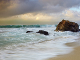 Crashing Waves, Garrapata State Park, Big Sur, California, USA Photographic Print by Patrick Smith