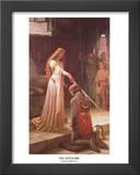 The Accolade Poster by Edmund Blair Leighton