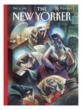 The New Yorker Cover - December 11, 1995 Premium Giclee Print by Carter Goodrich