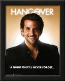 The Hangover Movie Bradley Cooper A Night They'll Never Forget Poster Print Poster