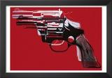Revólver, c.1981-82 Arte por Andy Warhol