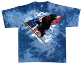 Patriotic Flying Eagle T-shirts