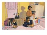 Before School, 1991 Giclée-vedos tekijänä Colin Bootman