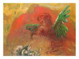 Pegasus Triumphant Giclee Print by Odilon Redon