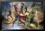 Avengers-Strike Kunstdrucke