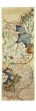 Original Design for the Artichoke Embroidery by Morris, C.1875 Giclée-Druck von William Morris